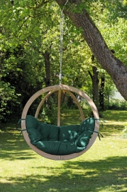 Hangematten Hangesessel Globo Chair Green Outdoor